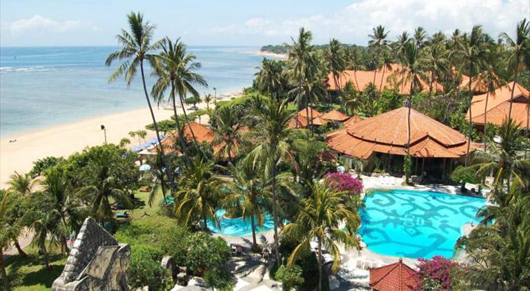 Studenthotellet til Active Education på Bali
